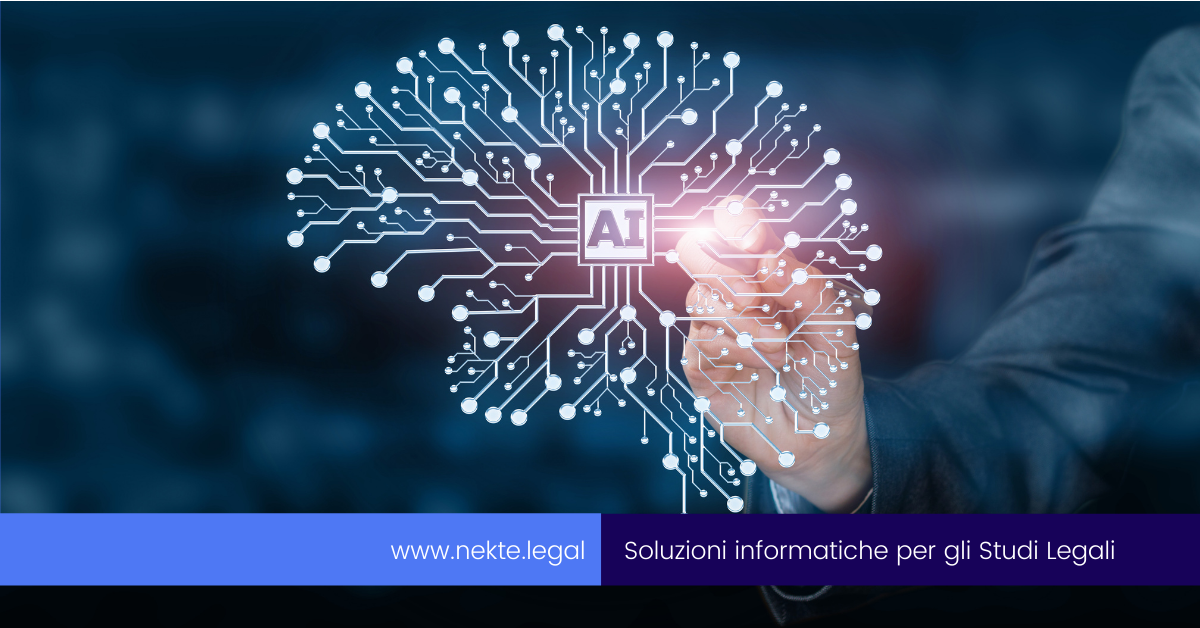 L'uso dell'intelligenza artificiale nello Studio Legale
